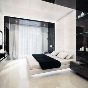 спальня в стиле хай тек идеи