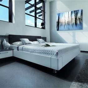 спальня в стиле хай тек идеи декор