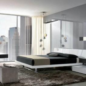 спальня в стиле хай тек идеи декора