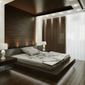 спальня в стиле хай тек идеи дизайн