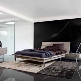 спальня в стиле хай тек идеи дизайна