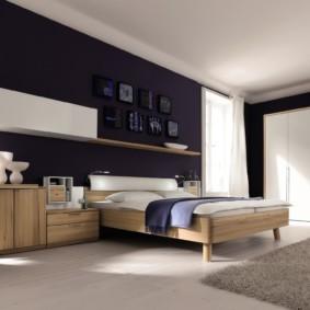 спальня в стиле хай тек идеи фото