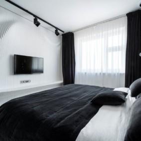 спальня в стиле хай тек идеи интерьера