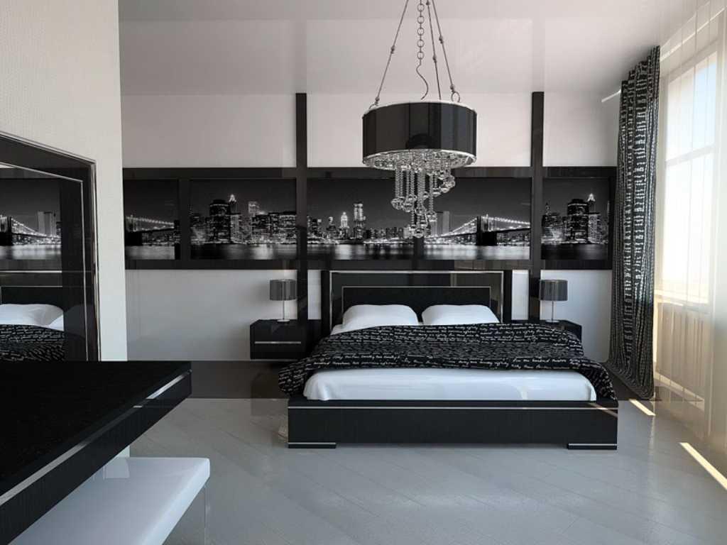 спальня в стиле хай тек идеи обзор
