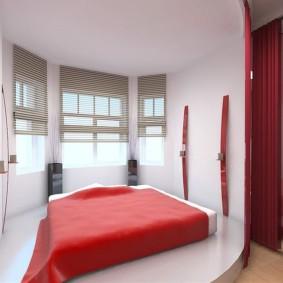 спальня в стиле хай тек идеи обзоры