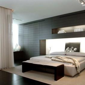спальня в стиле хай тек идеи оформление