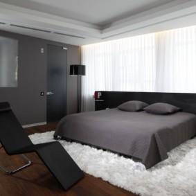 спальня в стиле хай тек идеи оформления