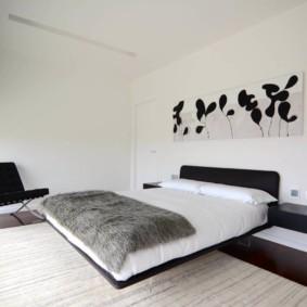 спальня в стиле хай тек идеи вариантов