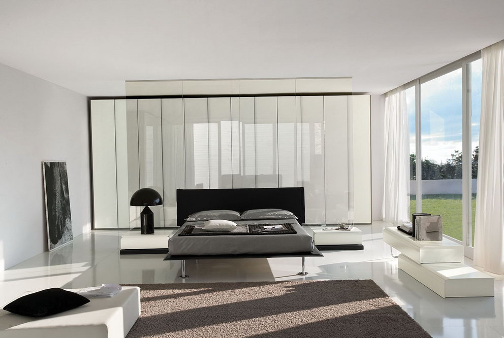 спальня в стиле хай тек идеи варианты