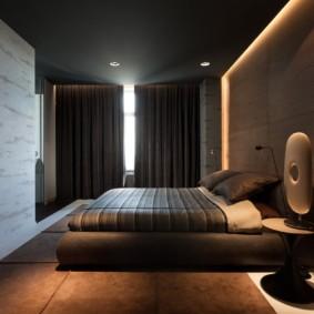 спальня в стиле хай тек оформление фото
