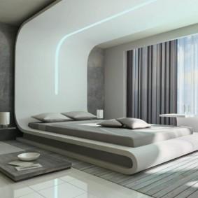 спальня в стиле хай тек варианты фото