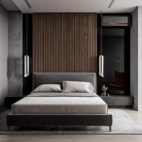 спальня в стиле хай тек виды
