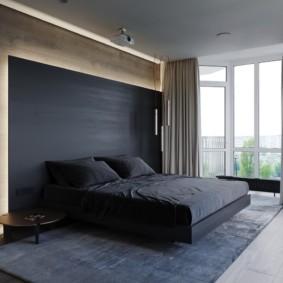 спальня в стиле хай тек виды фото