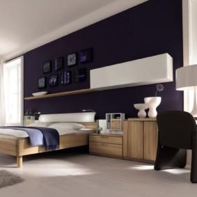спальня в стиле хай тек виды идеи