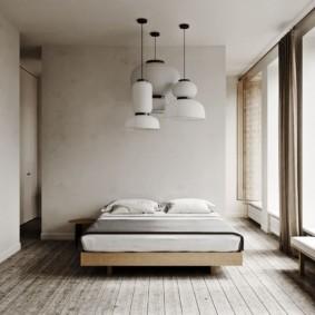 спальня в стиле минимализм декор идеи