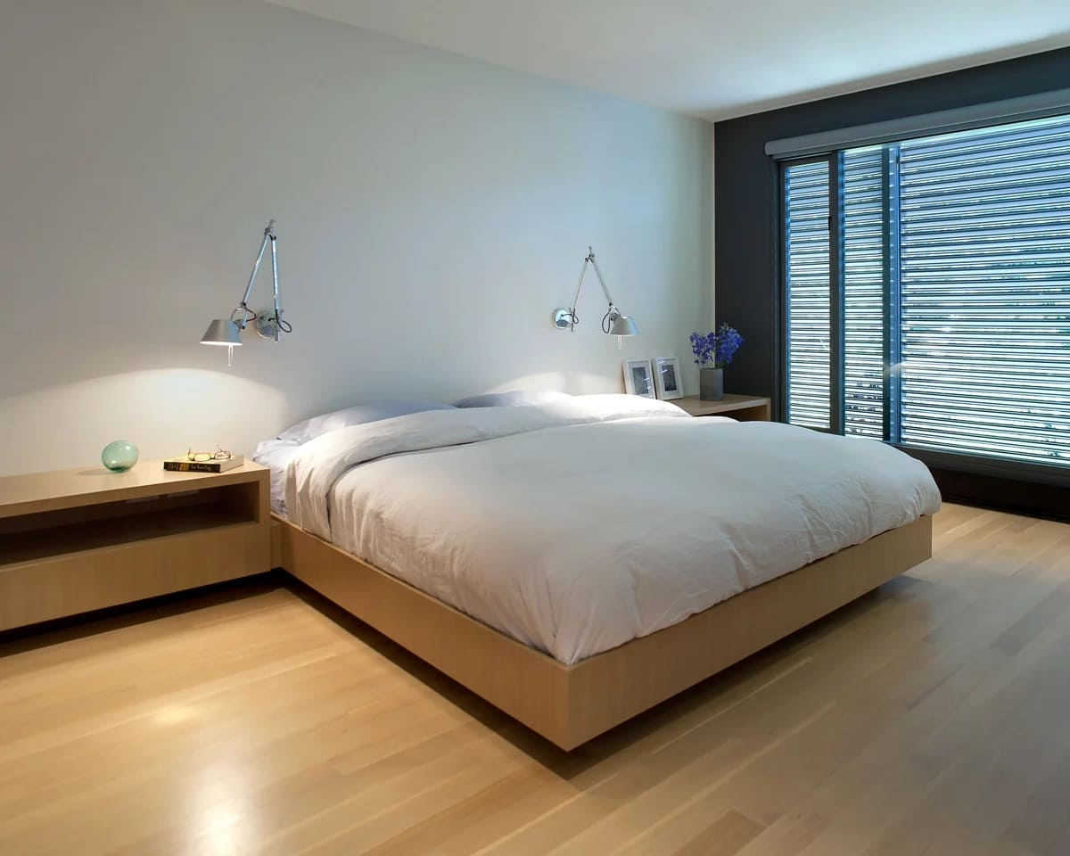 спальня в стиле минимализм дизайн фото