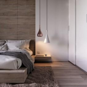 спальня в стиле минимализм дизайн идеи