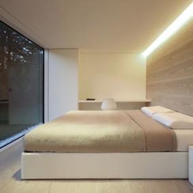 спальня в стиле минимализм фото декор