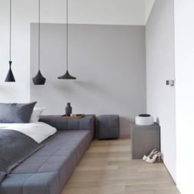 спальня в стиле минимализм фото дизайн