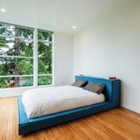 спальня в стиле минимализм фото обзор