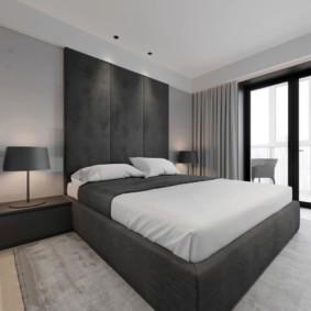 спальня в стиле минимализм фото оформления
