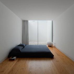 спальня в стиле минимализм фото вариантов
