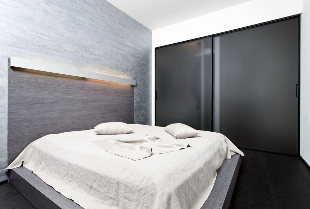 спальня в стиле минимализм фото варианты