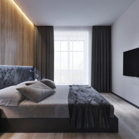 спальня в стиле минимализм идеи