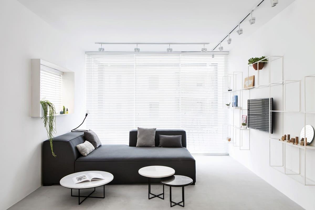 спальня в стиле минимализм идеи интерьер