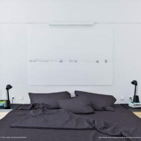спальня в стиле минимализм идеи интерьера