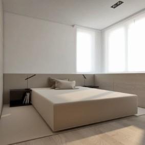 спальня в стиле минимализм идеи оформление