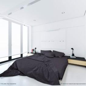 спальня в стиле минимализм идеи оформления