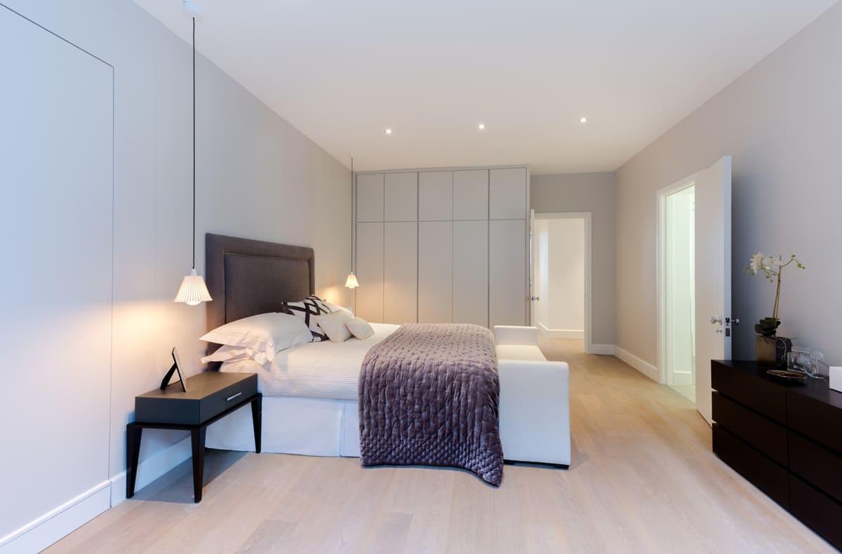 спальня в стиле минимализм идеи варианты