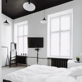 спальня в стиле минимализм интерьер идеи