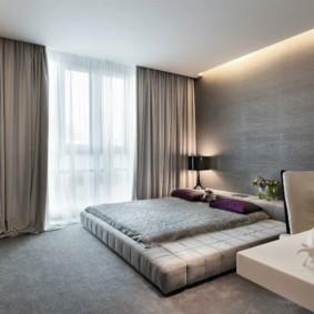 спальня в стиле минимализм обзор