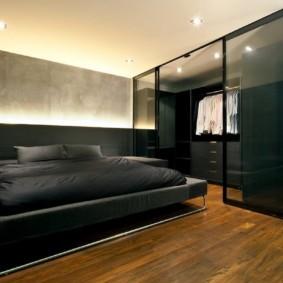спальня в стиле минимализм обзор фото