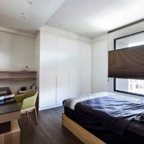 спальня в стиле минимализм обзор идеи
