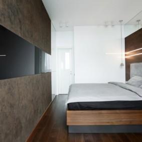 спальня в стиле минимализм виды