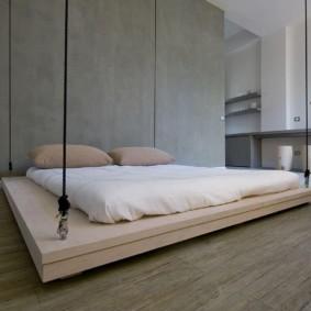 спальня в стиле минимализм виды дизайна