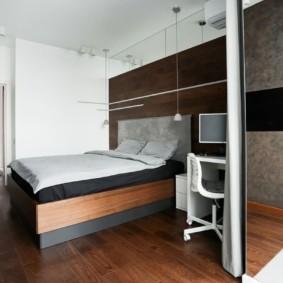 спальня в стиле минимализм виды фото