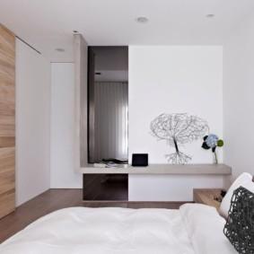 спальня в стиле минимализм виды идеи