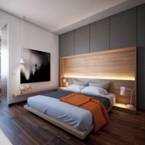 спальня в стиле минимализм виды интерьера