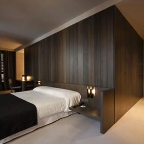 спальня в стиле минимализм виды оформления