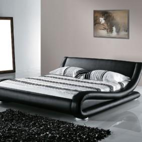спальня в стиле модерн декор