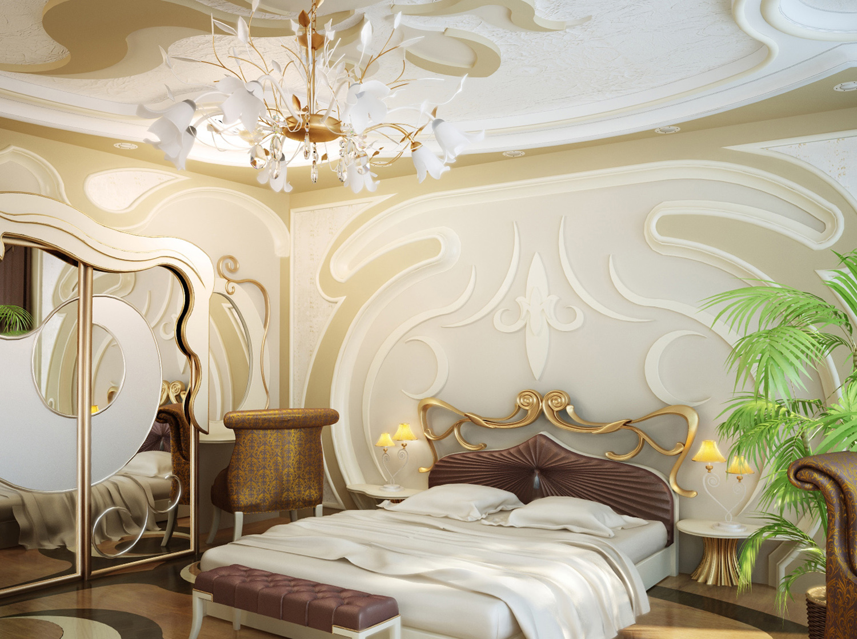 спальня в стиле модерн декор фото