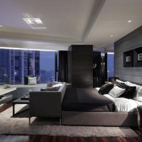 спальня в стиле модерн дизайн идеи