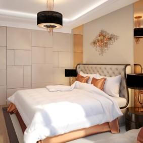 спальня в стиле модерн фото дизайна