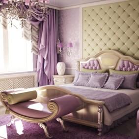 спальня в стиле модерн фото интерьер