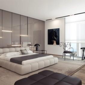 спальня в стиле модерн фото интерьера