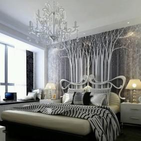 спальня в стиле модерн фото оформление